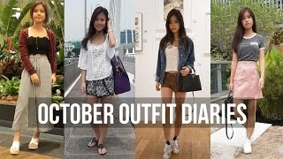 October Outfits Of The Month | Titan Tyra