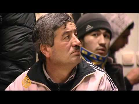 Migrant workers in Russia face language test