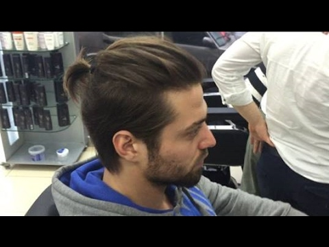 Uzun İtalyan Erkek Saç Modeli ve Kesim Detayları - 2018 Men's New Haircuts