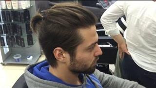 Uzun İtalyan Erkek Saç Modeli ve Kesim Detayları - 2019 Men