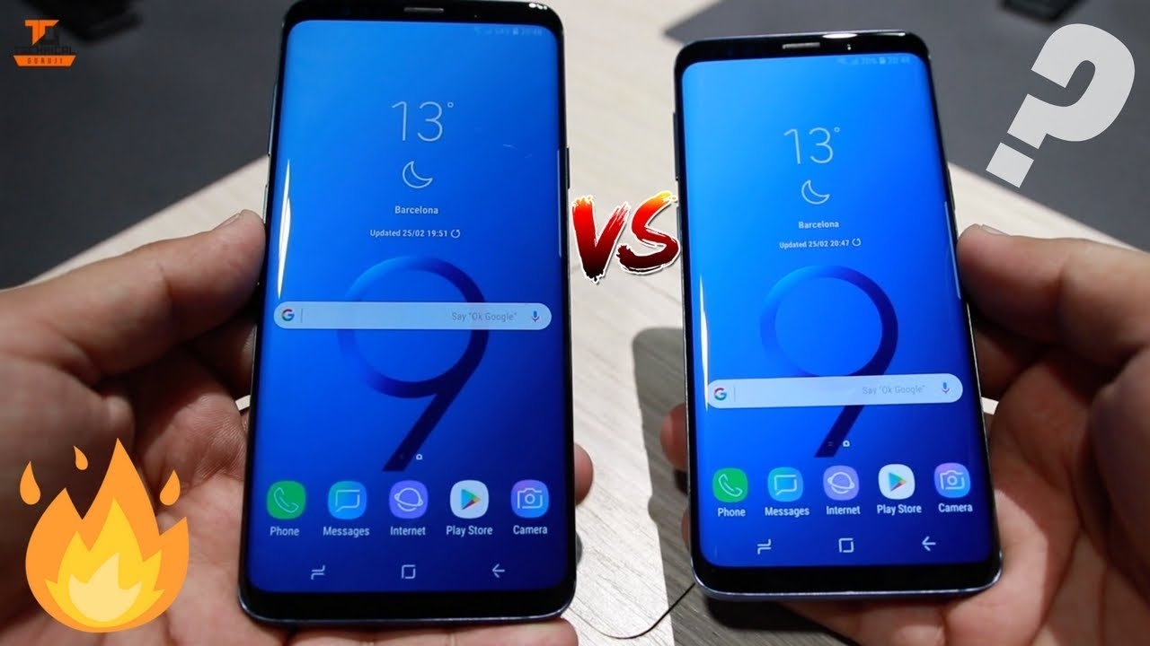 samsung galaxy s9 plus vs s9