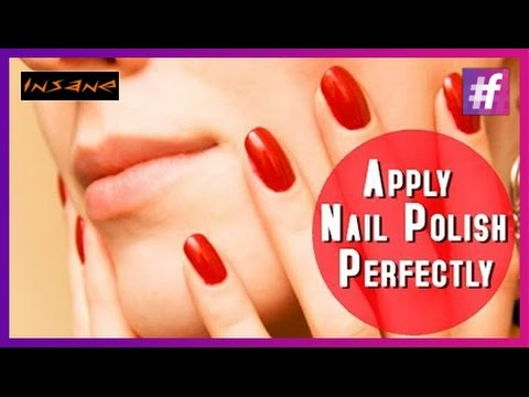 How To Apply Nail Polish Perfectly| Best Nail Tips - YouTube
