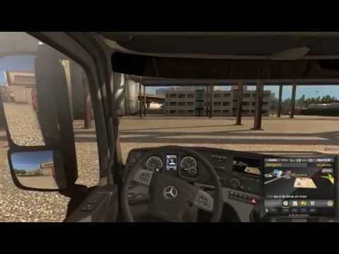 Euro Truck Simulator 2 Bratislava Slovakia to Budapest Hungary [PC]