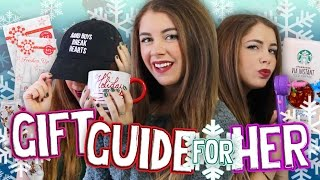Gift Guide for Her 2015 & Holiday GIVEAWAY! Christmas Present Ideas for All Ages! // Jill Cimorelli