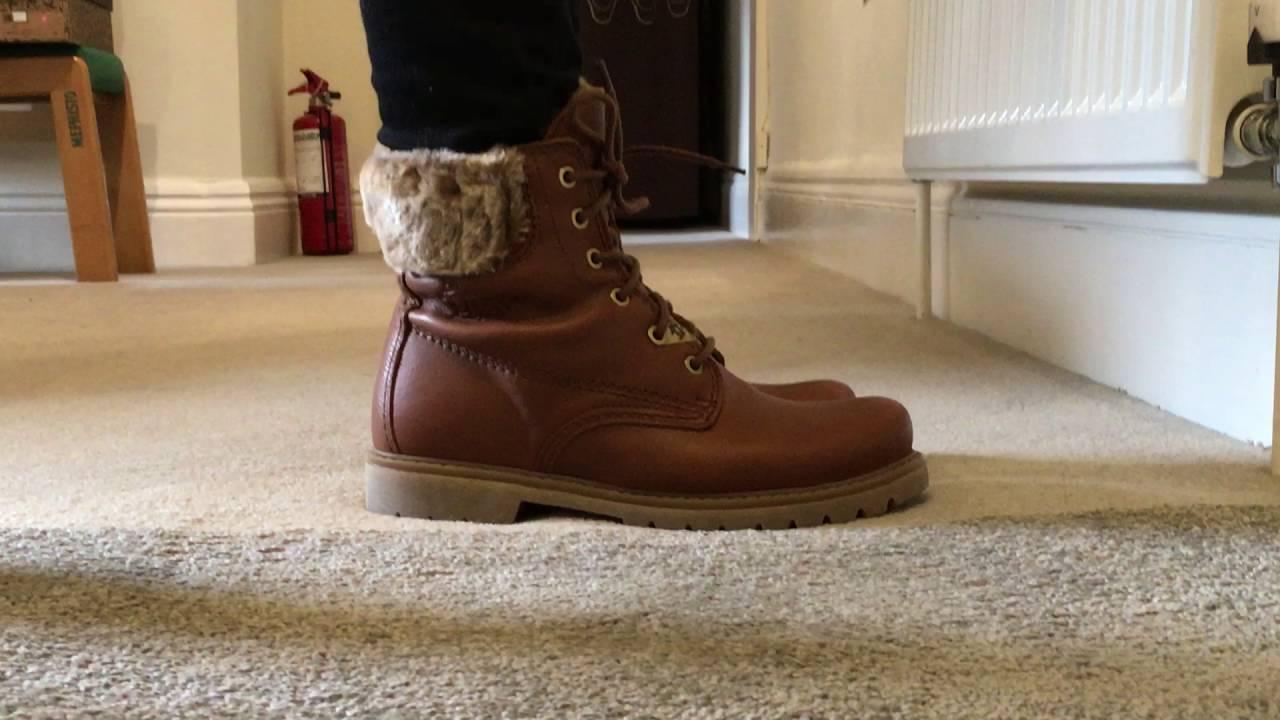 b418b13179d Ladies Panama Jack Felicia Lace Up Boot - YouTube