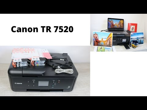 Canon TR 7520 Unboxing, Review & Setup