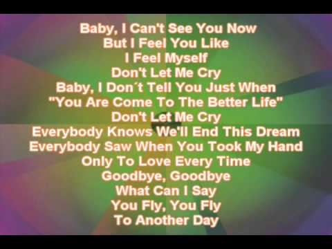 Don´t Let Me Cry -  Mark Davis - Jean Jade