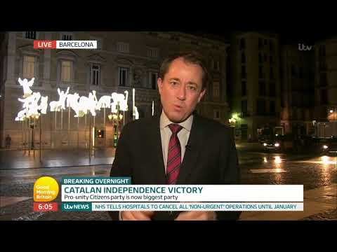 Catalan Independence Victory   Good Morning Britain