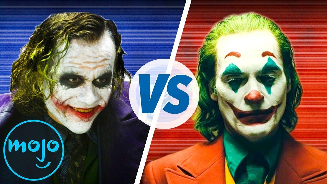 Heath Ledger Vs Joaquin Phoenix Poll: Best Joker: Heath Ledger Vs. Joaquin Phoenix