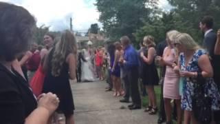 Jordan Hulls wedding