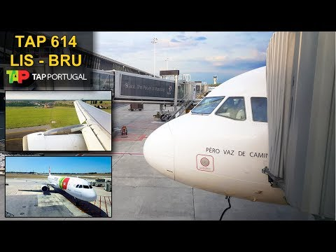 TRIP REPORT | TAP Air Portugal | LISBON - BRUSSELS | Airbus A321