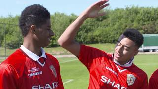 Jesse Lingard and Marcus Rashford recreate Ole Gunnar Solskjær's Champions League winning goal