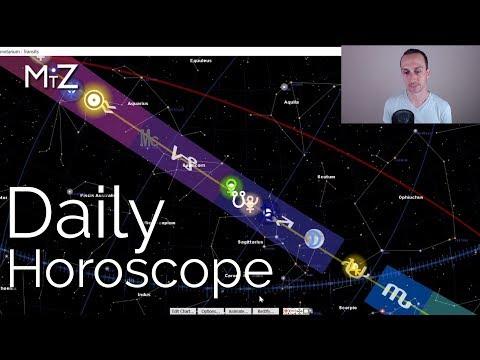 Daily Horoscope Thursday February 28th 2019 - True Sidereal Astrology