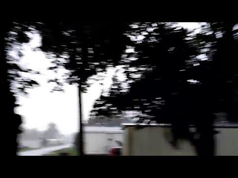 Huracan Irma viento y lluvia en Ocala Florida 10 de septiembre 2017