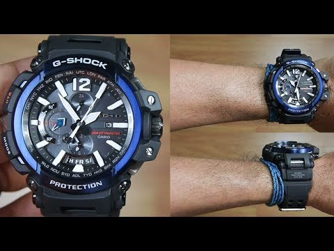CASIO G-SHOCK GRAVITY MASTER GPW-2000-1A2 - UNBOXING