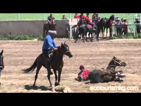 Kyrgyzstan! Horse Games. Kok-Boru