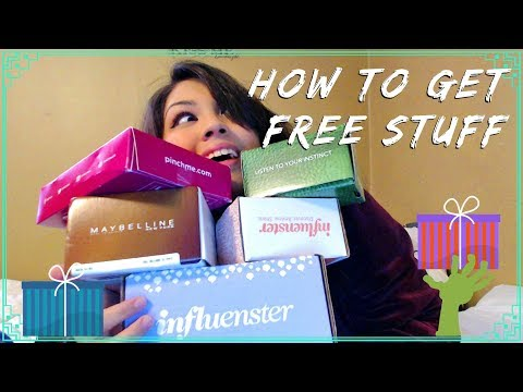 HOW TO GET FREE STUFF ONLINE! Influenster, Crowdtap, Bzzagent, Pinch ME
