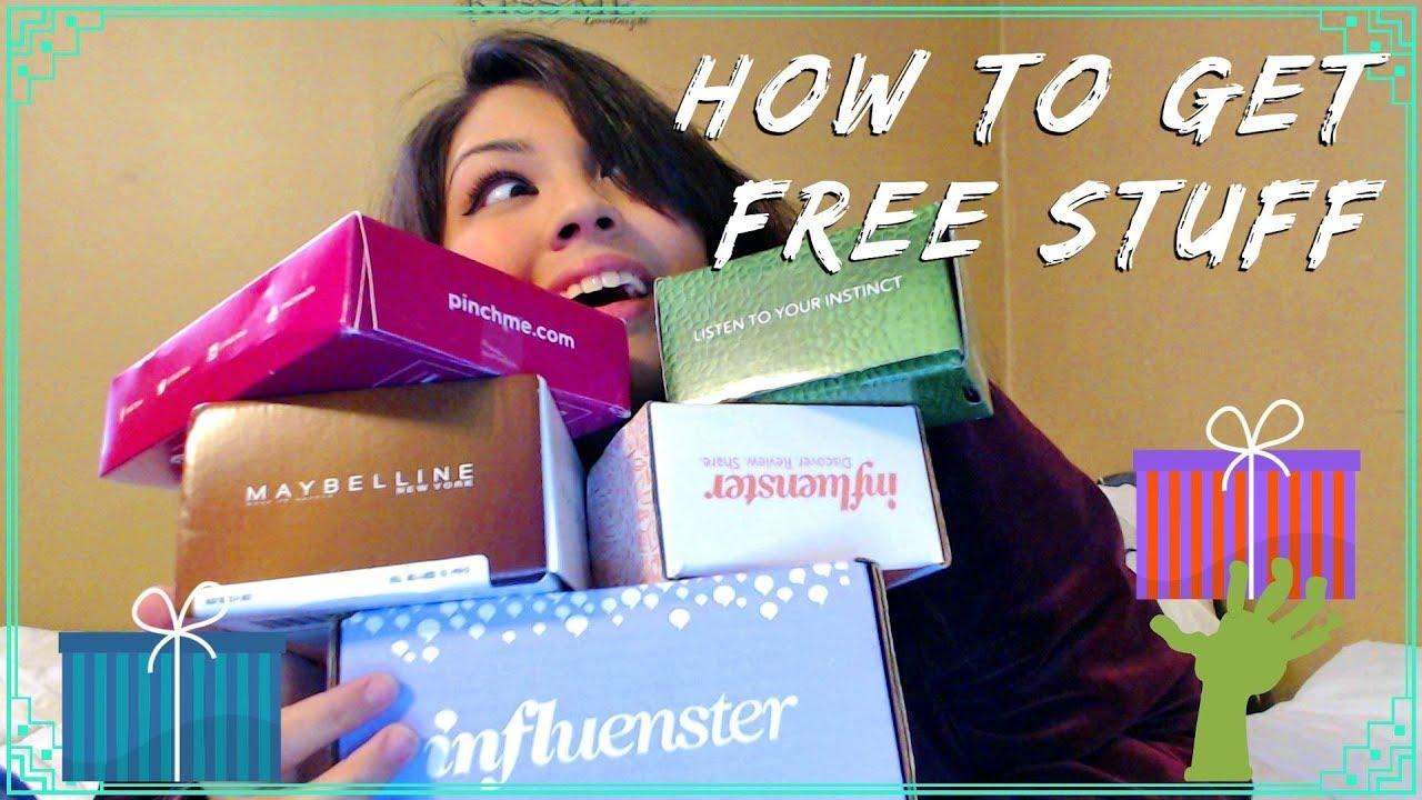 influenster how to get free stuff