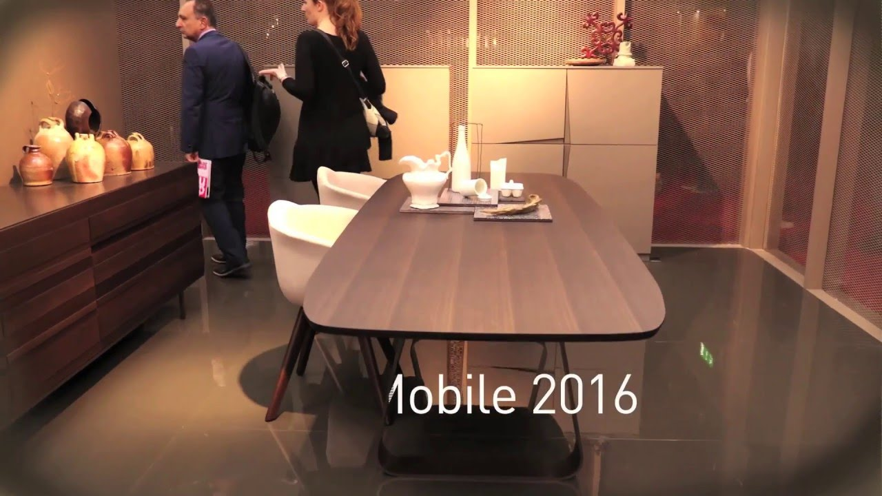 emmebi design salone del mobile 2016 youtube