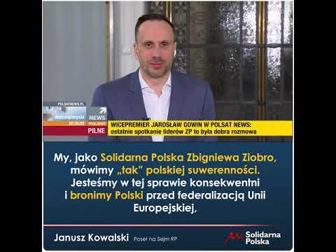 Stoimy na straży polskiej suwerenności!