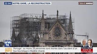 GRAND ANGLE - Notre-Dame de Paris: après l'émotion, place à la reconstruction