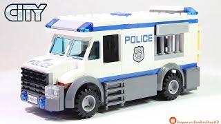 Đồ Chơi Xếp Hình LEGO City 60043 Lắp Ráp Xe Cảnh Sát Chở Phạm Nhân