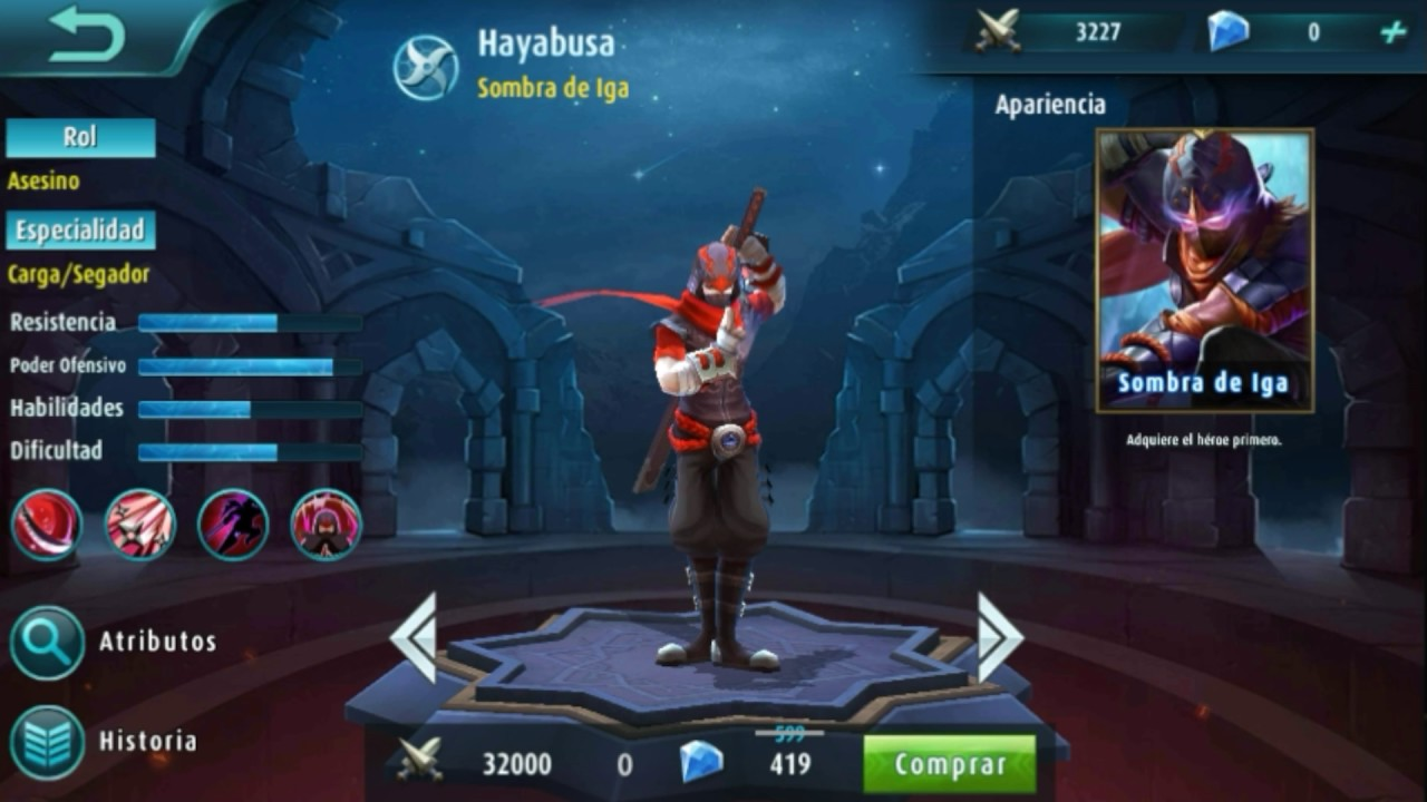 mobile legends : new update, heroe, avatars, initial