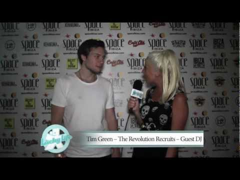 Charlie Hedges interviews Tim Green at Carl Cox's The Revolution Recruits at Space Ibiza