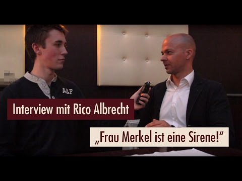 Rico Albrecht - Rede & Interview in Plauen |