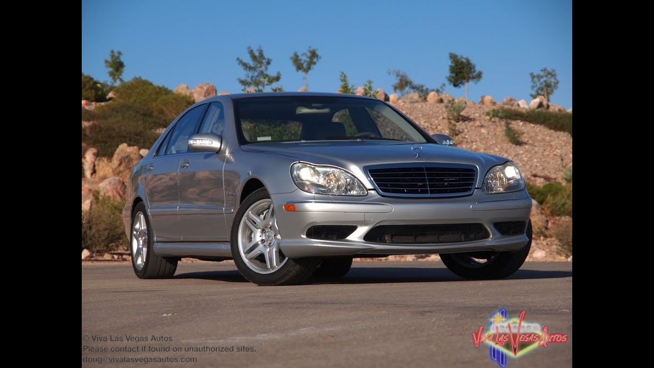 2003 mercedes benz s55 amg test drive viva las vegas for 2003 mercedes benz s55 amg