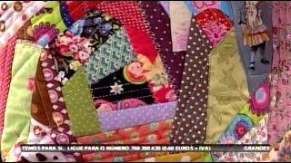 Crazy Patchwork – Costura com Riera Alta