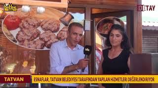 Bitlis Detay - Esnaflar Tatvan Belediyesinin  Hizmetlerini Değerlendriyor