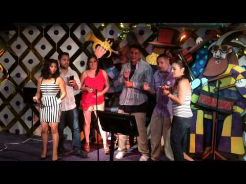 Casillas crew karaoke