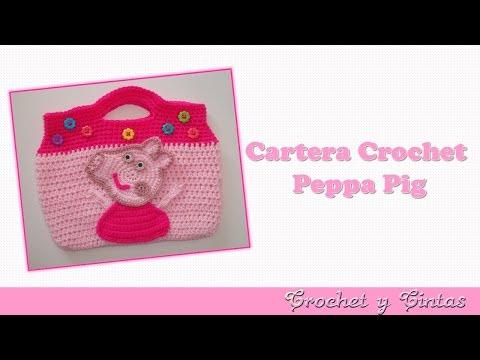 How To Crochet Peppa Pig Purse Bag Free Pattern Tutorial By Marifu6a : Como tejer una Bolsita de Buho en Crochet (Video 1 ) Doovi