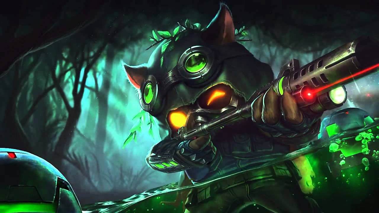 League Of Legends Animated Wallpaper Windows 10 Teemo The Merciless Scout Full Kit Rework Proposal