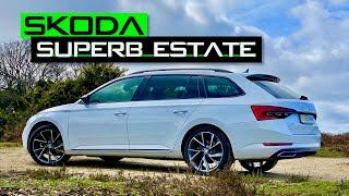 homepage tile video photo for 2020 Skoda Superb Estate 190 TDI SportLine Plus Review: The best family car? - Inside Lane