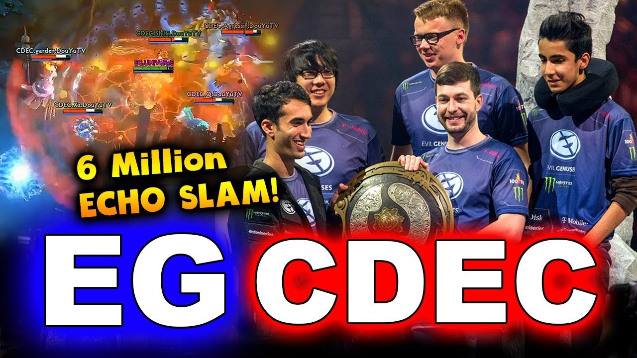 Ti5 eg vs cdec game 4 highlights