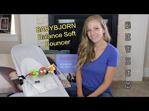 30bcb3d5f21 REVIEW  Babybjorn Balance Soft Bouncer - YouTube