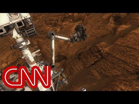 Organic matter found on Mars
