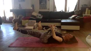 #Pilates #AbsTraining #Abdominaux #ventrePlat  Pilates core-training - abdominaux sans dégat