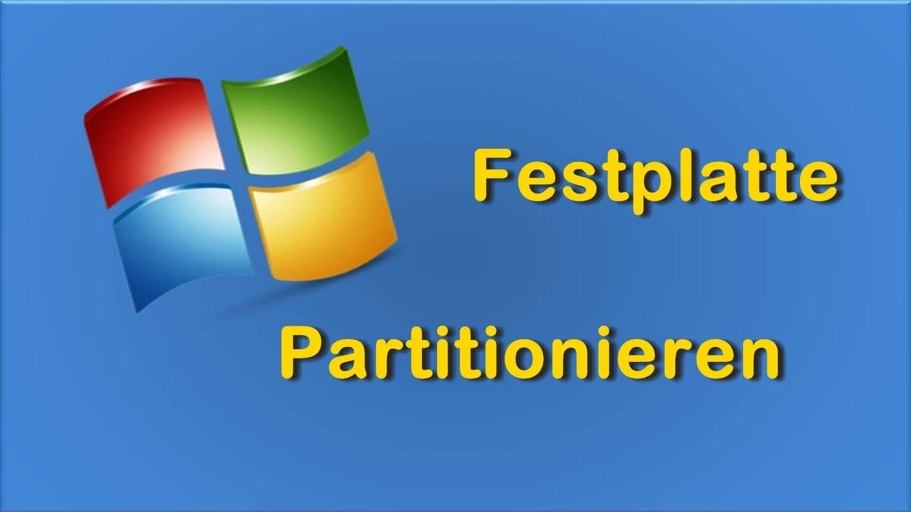 Windows 7 Partition Löschen