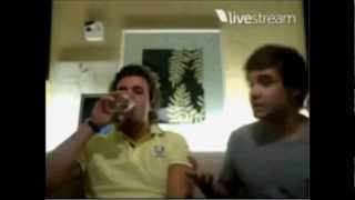 Liam Payne and Andy Samuels Twitcam BEST BITS 19/6/12