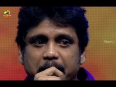 Nagarjuna Cries @ Manam Audio Launch - Nagarjuna Emotional Speech - Samantha,  ANR, Naga Chaitanya
