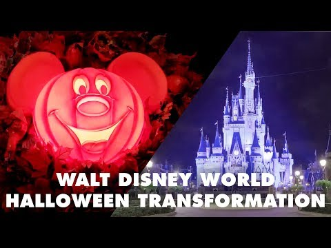 Walt Disney World Halloween Transformation | Disney