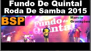 Baixar Fundo De Quintal Roda De Samba 2015 BSP
