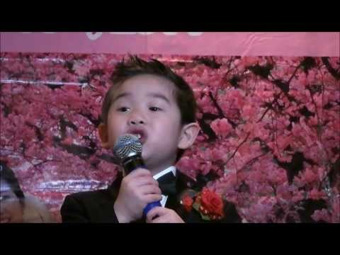 Amazing Toddler Bao Long sings Ao Lua Ha Dong & Vi Do La Em