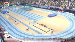TURKCELL TÜRKİYE U18 SALON ŞAMPİYONASI 17.02.2019
