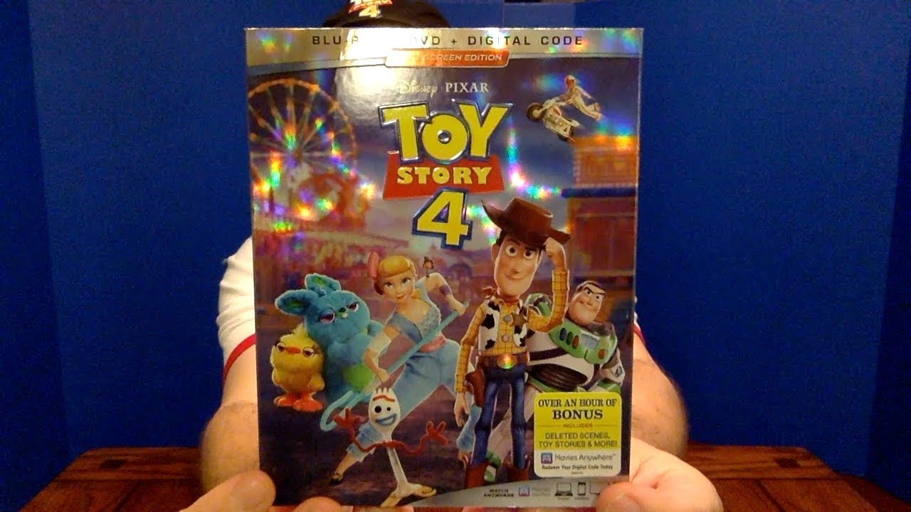 Toy Story 4 Dvd Unboxing