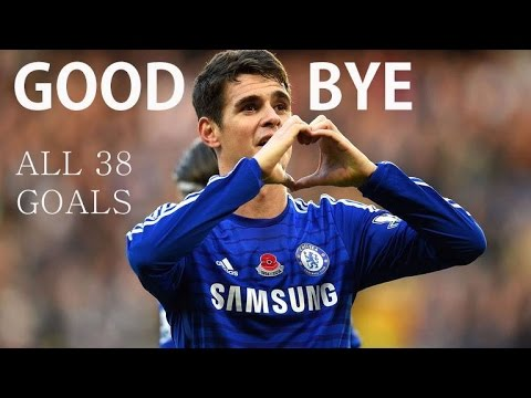 Oscar Emboaba - Goodbye - All 38 Goals For Chelsea FC - Thanks For Everything - HD