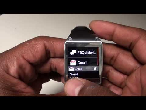 """Samsung Galaxy Gear """"Real Review"""" Part 1"""
